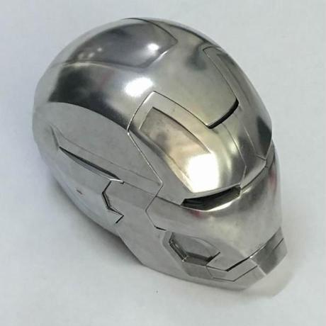 アイアンマン MK42 ヘルメット 1/1 金属製 3種類から選択  リモコン操作 マーベルアベンジャーズ コスプレ
