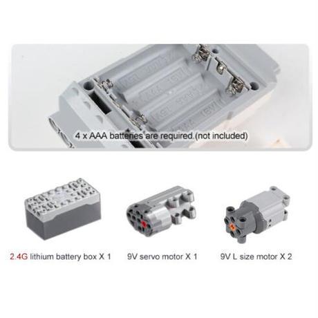 ラジコン仕様 レゴ互換 RC オフロード バギー 1090ピース LEGO互換品 おもちゃ 誕生日プレゼント