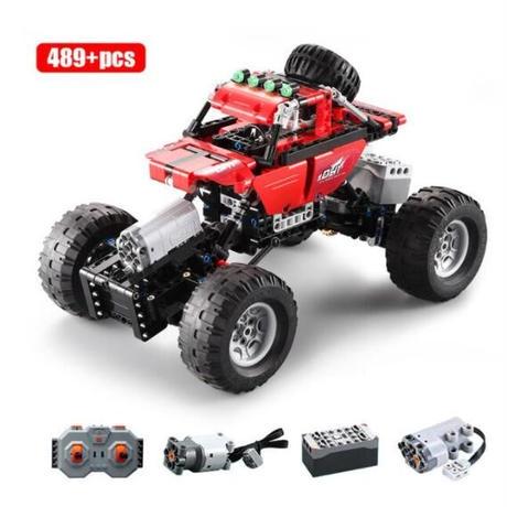 まるでラジコン レゴ互換 オフロード クライミング バギー 489ピース 車 トラック RCカー LEGO互換品