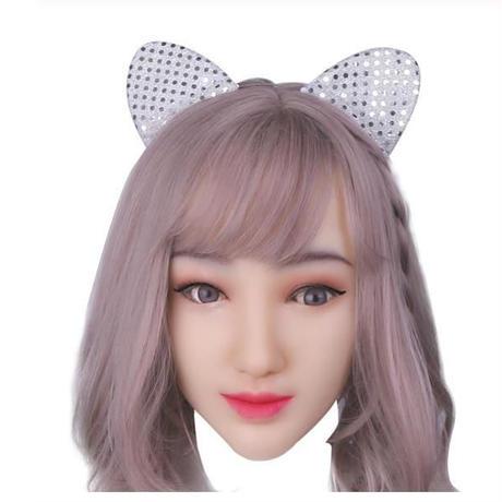 女装 仮装 コスプレ ソフトシリコン マスク フルフェイス タイプ 4色から選択 ハロウィン クロスドレッサー