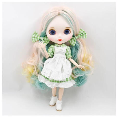 アイシードール 6種類 高品質 本体 可動ボディ セット 付け替えハンドパーツ 1/6ドール カスタムブライス ブライスドール BJD人形 おもちゃ