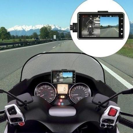 格安ドラレコ!ドライバーの未来を守る!防水仕様 前後カメラ オートバイ ドラレコドライブレコーダーバイク セパレートタイプ