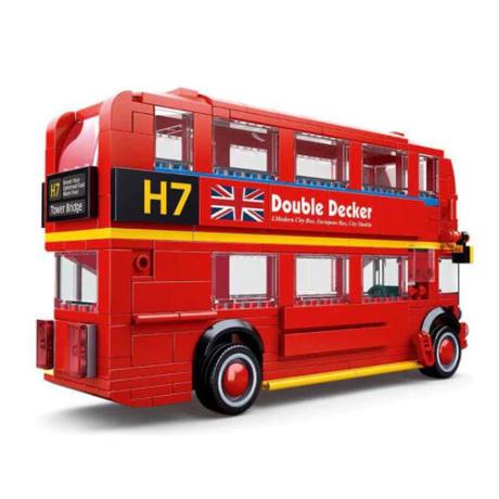 レゴ互換 クラシック ロンドンバス ダブルデッカー 382ピース おもちゃ 誕生日 クリスマス プレゼント LEGO互換品