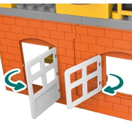 レゴ互換 デュプロ ショベルカー ブルドーザー 働く人 183ピース 都市建設 カラフルシティ おもちゃ 誕生日 プレゼント
