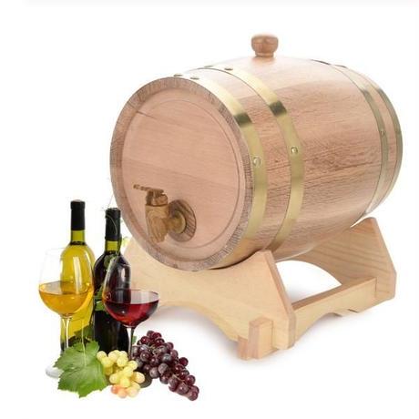5L オーク樽 醸造装飾 ワイン樽 樽バケツ 醸造 木製