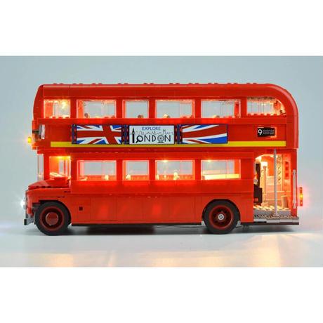レゴ互換 クラシック ロンドンバス LED ライトキット おもちゃ 誕生日 クリスマス プレゼント LEGO互換品