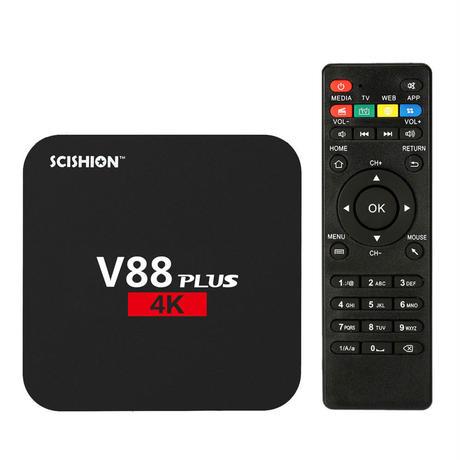 V88プラススマートアンドロイド6.0 TVボックスKODI 16.1 RK3229 2G / 8G クアッドコアUHD 4KミニPC WiFi H.265 メディアプレーヤー