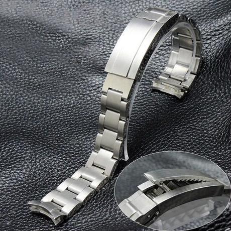 最高級 ROLEX ロレックス 互換用 腕時計 ベルト ディープシータイプ ステンレス 取付幅 20mm ブラッシュ仕上げ