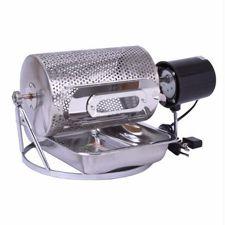 珈琲焙煎機 小型 コーヒーロースター 電動 コーヒー豆 焙煎機 ステンレス製【送料無料】