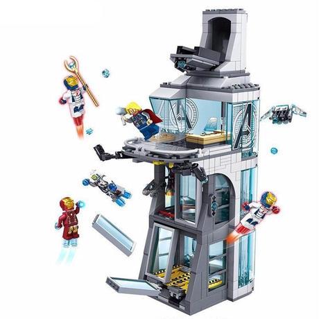スーパーヒーローズ アベンジャーズタワーの攻撃 76038 アイアンマン レゴ風 レゴカスタム レゴ互換 ミニフィグキット 箱なし新品