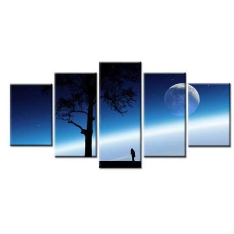 海外輸入 インテリア 絵画 壁掛け 風景 パネルアート landscape 1