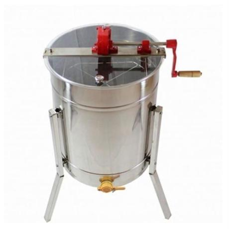 4枚式(4フレーム)蜂蜜分離器 ステンレス 蜂蜜抽出 ドラム養蜂農場 はちみつ遠心分離機 蜂蜜取る機械