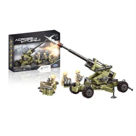 レゴ互換 ミリタリーコーピオ高射砲 LEGO互換品 ブロック おもちゃ プレゼント
