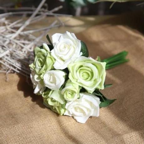 薔薇の花束 9~1800本 12色 セット売り可 ウェディングブーケ バラ ローズ 造花 シルクフラワー アートフラワー 結婚式