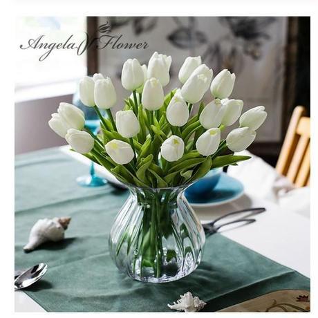 【選べる12色】チューリップ 造花 大量まとめて31本 アートフラワー 春 枯れない花 ブーケ 花束 アレンジメントに プレゼント お祝い