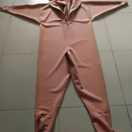 選べるサイズ(38~47)防水フィッシングスーツ 厚さ1mm ゴム製 釣り パンツ オーバーオールチャック付