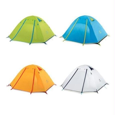 Naturehike ネイチャーハイク 2人用 4色 アウトドア NHテント 二重層 超軽量 キャンピングテント キャンプ