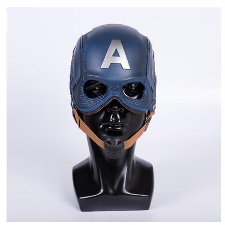 キャプテンアメリカ ヘルメット マスク コスプレ衣装 仮装 小道具 海外限定 非売品 映画グッズ 映画関連 レプリカ フリーサイズ
