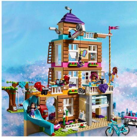 レゴ 互換 フレンズ フレンドシップハウス 作戦ハウス 865ピース おもちゃ プレゼント 誕生日 クリスマス