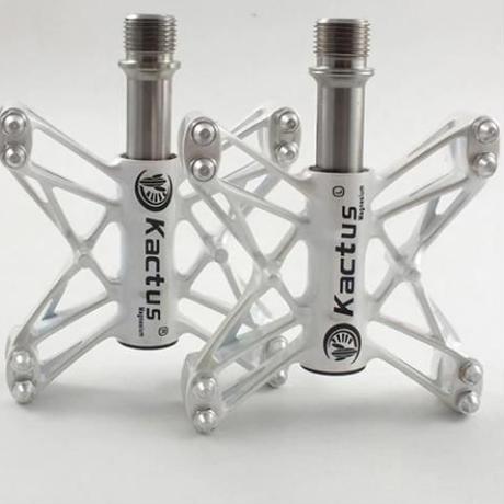 超軽量80グラムチタンスピンドルマグネシウムボディペダルロードバイク クロスバイク ピストバイク自転車