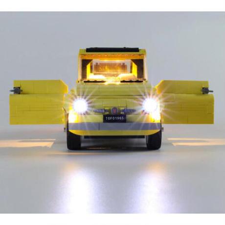 レゴ互換 フィアット 500 LED ライトキット おもちゃ 誕生日 クリスマス プレゼント LEGO互換品