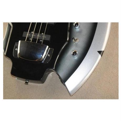 カスタム4弦 エレキベース アックス 斧デザイン 40インチ メタル ハードロック