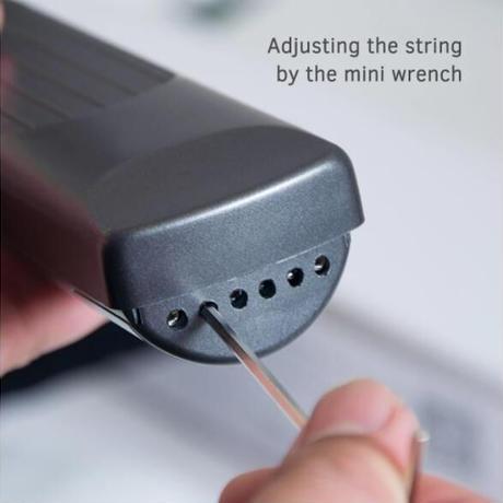 ポケットギター コードトレーナー どこでも練習 弦つき 液晶画面 初心者 ギター練習ツール メトロノーム