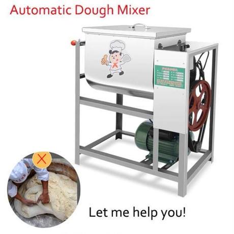 業務用自動ドウミキサー25キログラム 小麦粉ミキサー攪拌ミキサー パスタマシン 生地混練 GF0019