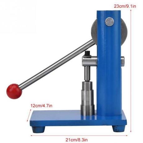 タブレットプレス機 卓上打錠機 錠剤成型機 手動式  3mm 6mm 8mm 10mm 12mmメートル