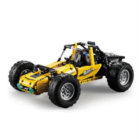 まるでラジコン レゴ互換 テクニック オフロード クライミングカー 2.4G 522ピース LEGO互換品 RCカー おもちゃ 誕生日プレゼント