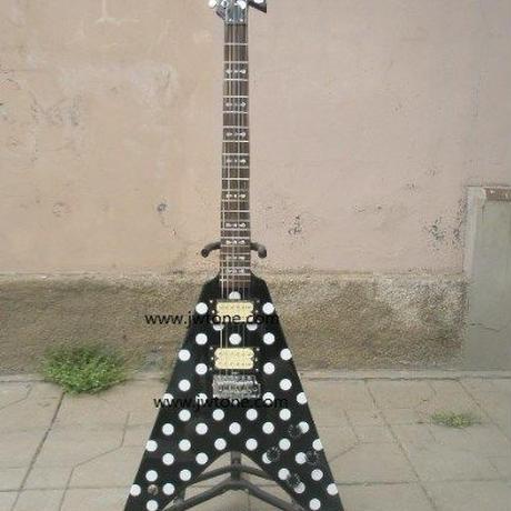 フライングV ランディローズ レプリカ ノーブランド オジー オズボーン エレキギター ギタリスト バンド