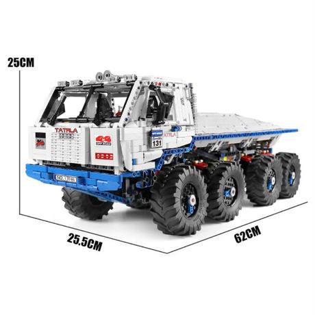 レゴ互換 タトラトラック モーターセット ラジコン仕様 3647ピース テクニック LEGO互換品 誕生日 クリスマス プレゼント
