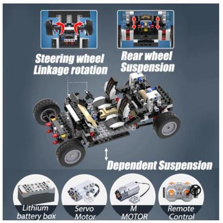 レゴ互換 レビン AE86 ラジコン仕様 1234ピース ハチロク ブロック LEGO互換品 おもちゃ 誕生日 プレゼント
