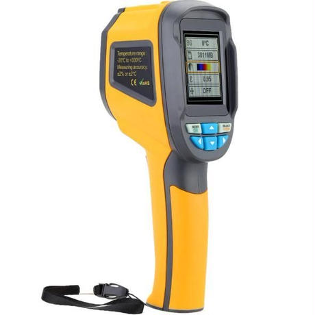 プロフェッショナル HT02D ハンドヘルド熱イメージングカメラポータブル 赤外線温度計IR熱 イメージング赤外線