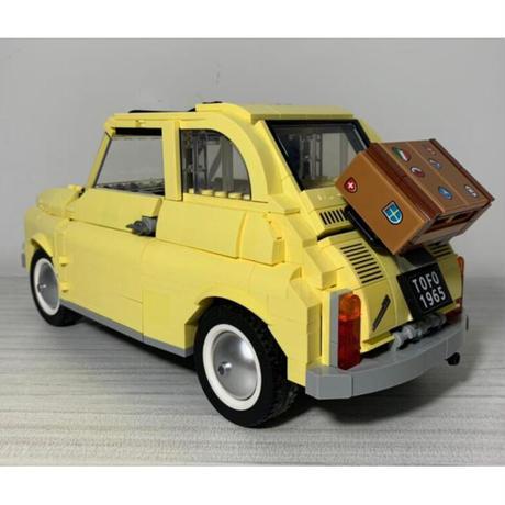 レゴ互換 10271 フィアット 500 FIAT 960ピース おもちゃ 誕生日 クリスマス プレゼント LEGO互換品
