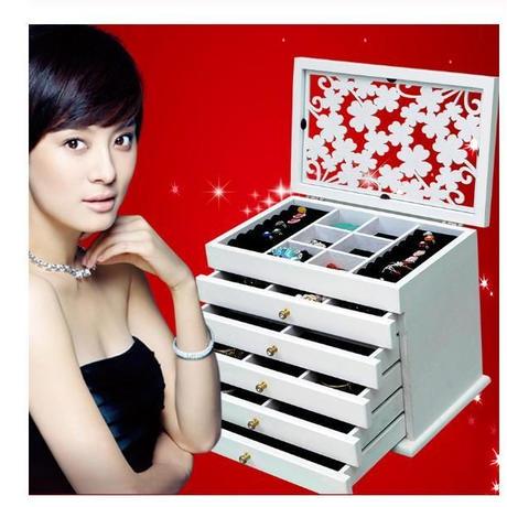木製 ジュエリー ボックス 2色 収納 ギフト ディスプレイ ボックス ジュエリー lagre ギフト ボックス 包装棺 結婚 休日ギフト 化粧 宝石箱 ルースケース