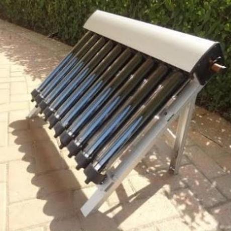 ソーラー温水器 10真空管 ヒートパイプ真空管 新しい太陽集熱器の1セット