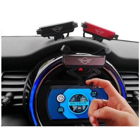 ミニクーパー スマホ 携帯電話ホルダー 携帯スタンド F54 F55 f56 F60 MINI COOPER 急速充電