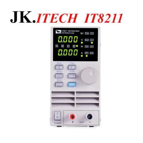 IT017プロフェッショナルデジタル制御DC電子負荷メーターITECH IT8211シングルチャネル電子負荷60V 30A 150W計測