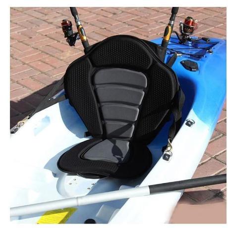 SGODDE カヤックシート 取り外し可能 ポータブル 滑り止めパッド入り 調整可能 カヌー カヤックボート 海