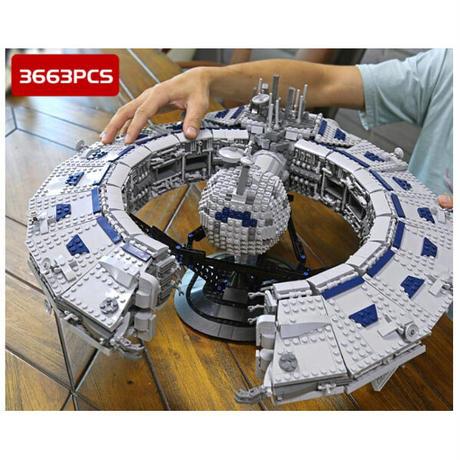 レゴ互換 MOC スターウォーズ Lucrehulk 戦艦ドロイド 13056 バトルシップ LEGO互換品 おもちゃ 誕生日プレゼント
