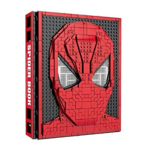 レゴ互換 スパイダーマン大集合ブック ライド付き 2895ピース LEGO互換品 ブロック おもちゃ 誕生日 プレゼント