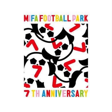 7th anniversary Tシャツ/白