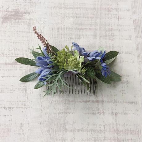 ボタニカル ヘアコーム (blue daisy)