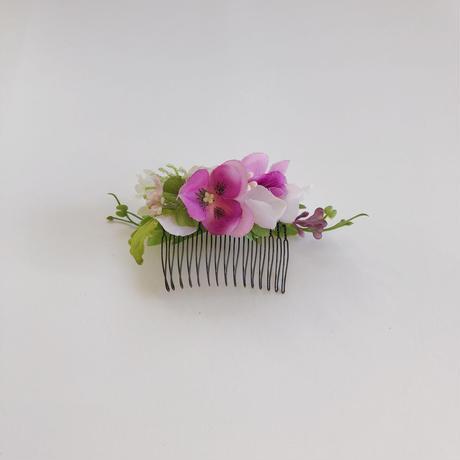 ボタニカルヘアコーム (petit pink)