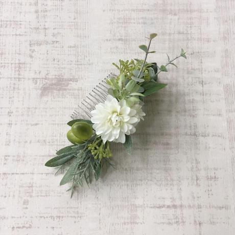 ボタニカル ヘアコーム (white green)