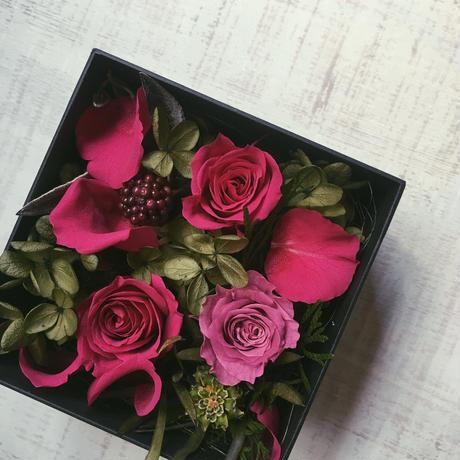 Flower box(pink)