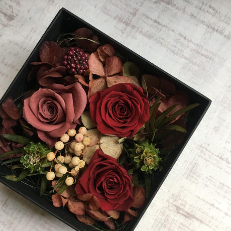 Flower box(red)