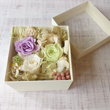 Flower box(light green)