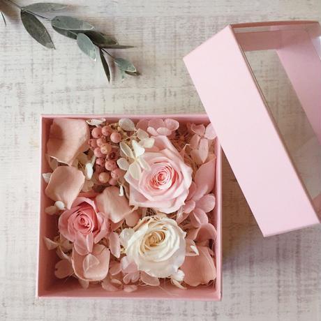 Flower box(bany pink)